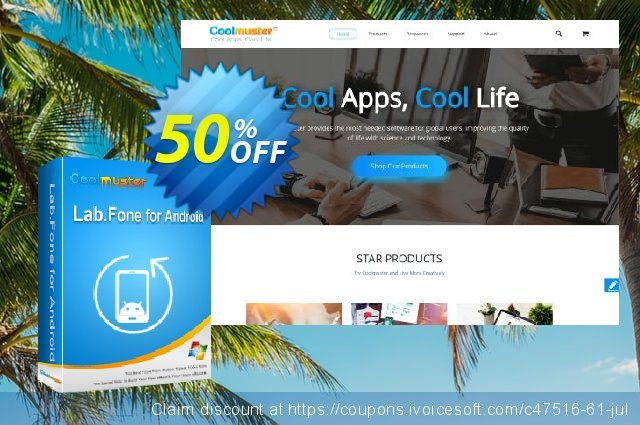 Coolmuster Lab.Fone for Android Lifetime (9 Devices, 3 PCs) discount 50% OFF, 2019 Back to School Promos offering sales