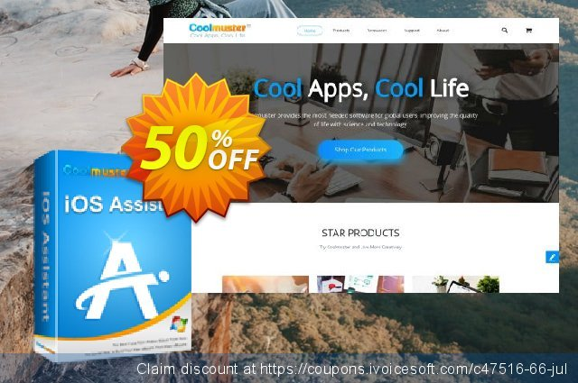 Coolmuster iOS Assistant - Lifetime License(1 PC) discount 50% OFF, 2019 Earth Hour offering sales