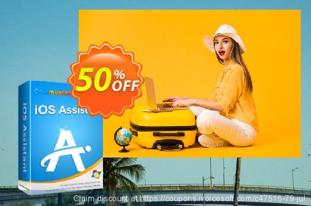 Coolmuster iOS Assistant - 1 Year License(26-30PCs) discount 50% OFF, 2019 Father's Day offering sales