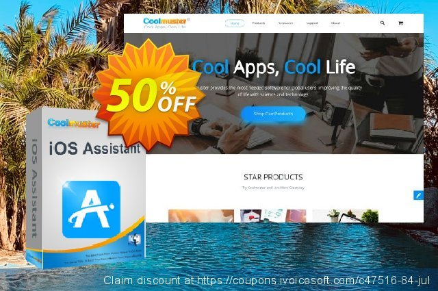 Coolmuster iOS Assistant  for Mac - Lifetime License(16-20PCs)  훌륭하   촉진  스크린 샷