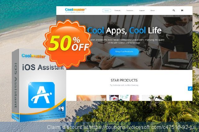 Coolmuster iOS Assistant for Mac - 1 Year License(21-25PCs) 棒极了 折扣 软件截图