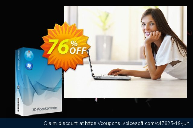 7thShare 3D Video Converter discount 76% OFF, 2019 Labour Day offering sales