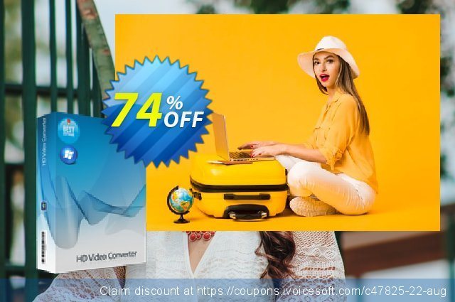 7thShare HD Video Converter discount 74% OFF, 2020 Kiss Day offering sales