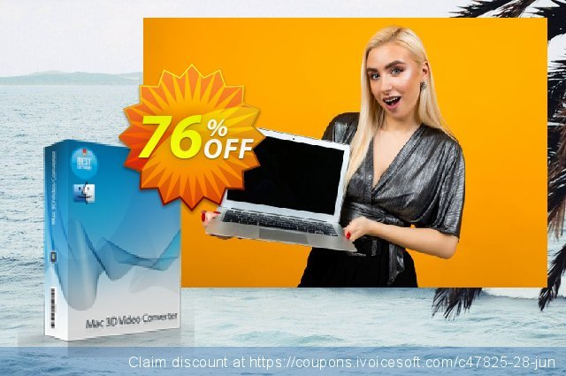 7thShare Mac 3D Video Converter discount 76% OFF, 2021 New Year's Day promotions