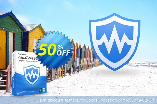 Wise Care 365 Pro discount 50% OFF, 2021  Lover's Day offering sales