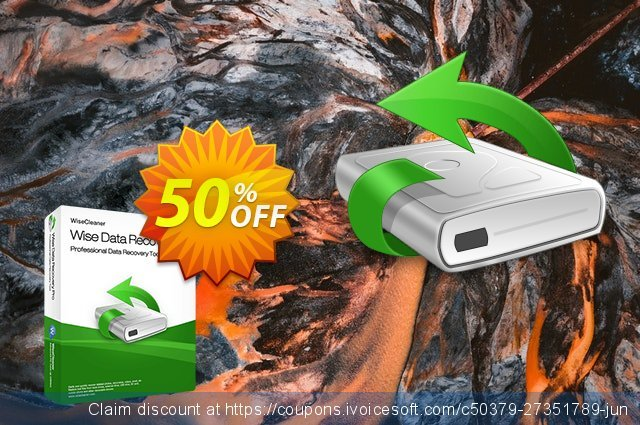 Wise Data Recovery Pro (1 Year / 1 PC) discount 50% OFF, 2021 Library Lovers Month offering sales