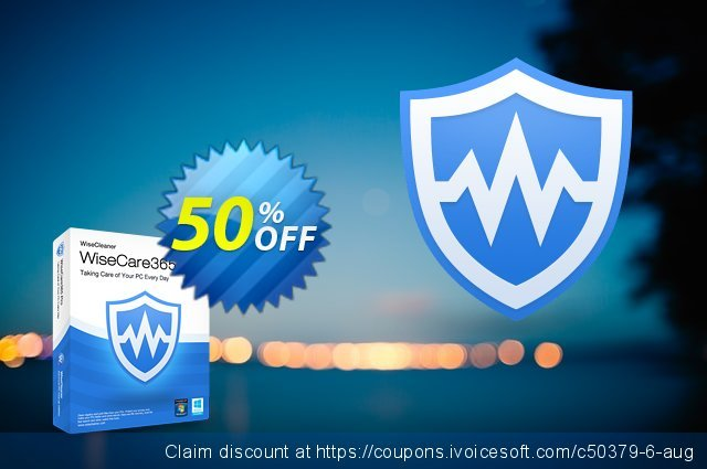 Wise Care 365 Pro (Enterprise Lifetime) discount 25% OFF, 2019 Halloween sales