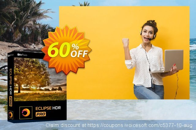 inPixio Eclipse HDR Pro discount 60% OFF, 2020 Halloween promotions