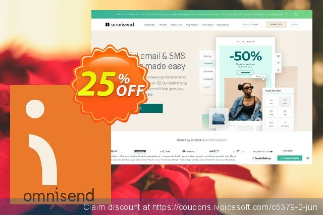 Omnisend PRO discount 25% OFF, 2020 College Student deals offering sales