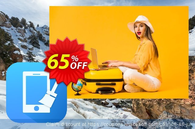 Cisdem iPhone Cleaner for Mac discount 53% OFF, 2019 Thanksgiving offering sales
