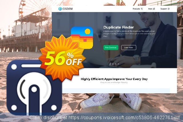 Cisdem DataRecovery for 5 Macs discount 30% OFF, 2019 Thanksgiving offer