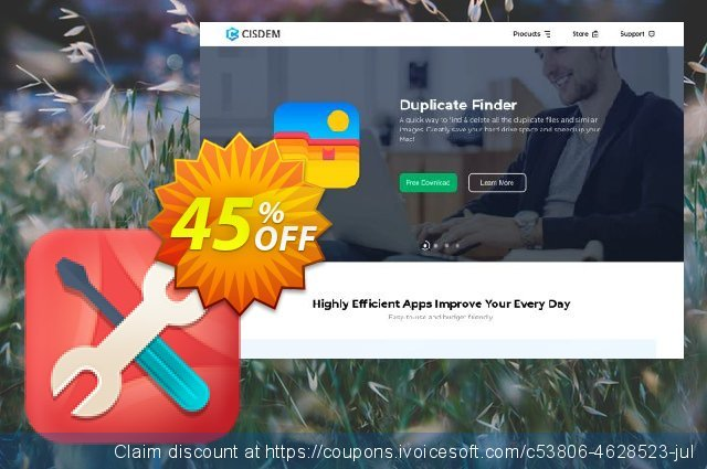 Cisdem PDF Manager Ultimate for 2 Macs discount 45% OFF, 2020 Summer discount