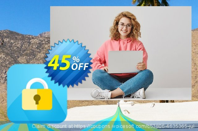 Cisdem AppCrypt for 5 Macs discount 45% OFF, 2020 American Independence Day offering sales