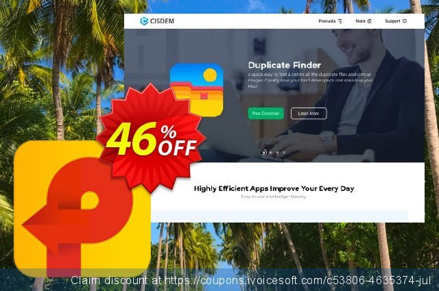 Cisdem PDF Creator for 2 Macs discount 46% OFF, 2021 Earth Hour offering sales