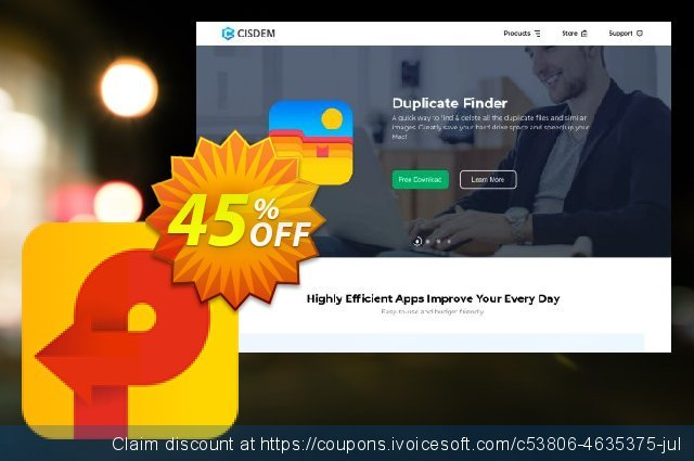 Cisdem PDF Creator for 5 Macs discount 45% OFF, 2021 Spring offering sales