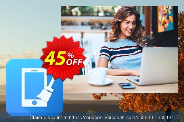 Cisdem iPhone Cleaner for 5 Macs discount 30% OFF, 2019 Thanksgiving Day offering deals