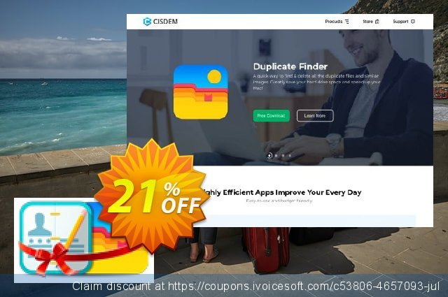 ContactsMate and DuplicateFinder Bundle discount 10% OFF, 2020 Happy New Year offering sales