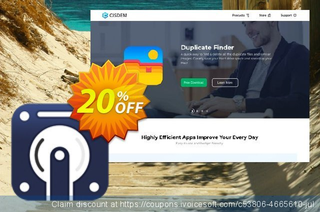 Cisdem Data Recovery Business for 10-20 Macs discount 20% OFF, 2020 Back to School deals discount