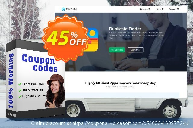 Cisdem PDF Password Remover for 5 Macs discount 30% OFF, 2020 New Year offering sales