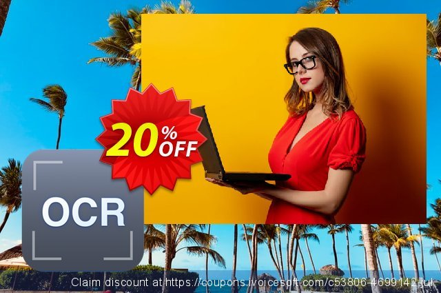 Cisdem OCRWizard for 2 Macs discount 20% OFF, 2020 Back to School promotion deals