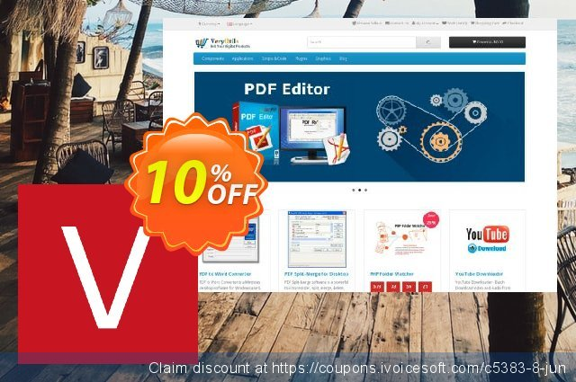 All VeryUtils, VeryPdf & VeryDOC products discount 10% OFF, 2021 New Year offering sales