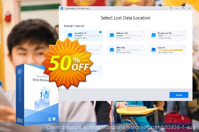 TogetherShare Data Recovery Professional Lifetime discount 60% OFF, 2019 Halloween offering discount