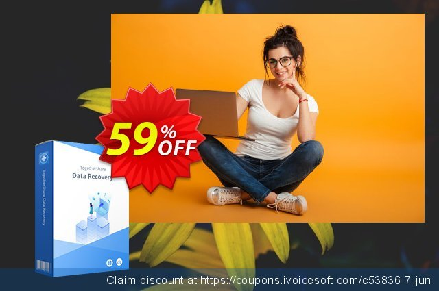 TogetherShare Data Recovery Professional 可怕的 产品销售 软件截图