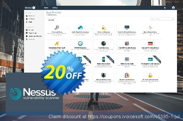 Tenable Nessus professional discount 20% OFF, 2020 Teacher deals offering sales