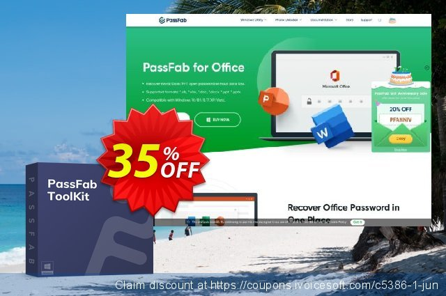 PassFab ToolKit discount 35% OFF, 2021 Happy New Year offering sales