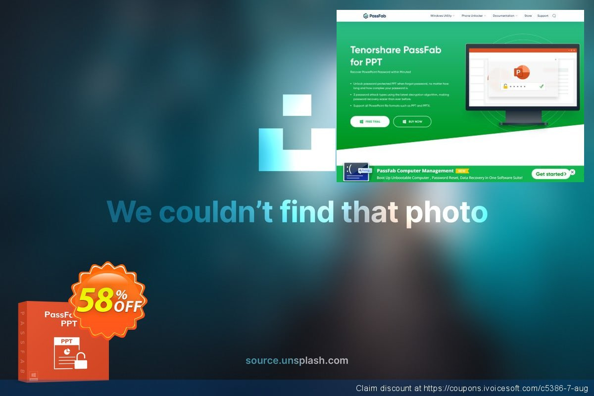 PassFab for PPT discount 58% OFF, 2021 Valentine Week offer