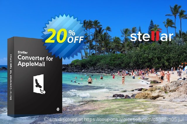 Stellar Apple Mail to Outlook 2011 Converter discount 20% OFF, 2020 College Student deals offering sales