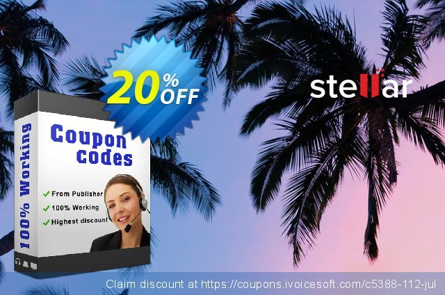 Stellar Phoenix Video Repair (MAC) discount 20% OFF, 2019 Halloween offering sales