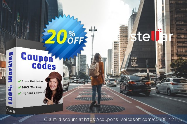 Stellar NSF to PST Converter offer (Technician) discount 20% OFF, 2021 Labour Day offering sales
