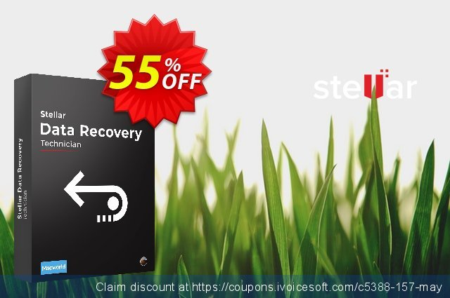 Stellar Data Recovery for MAC Technician 了不起的 产品销售 软件截图