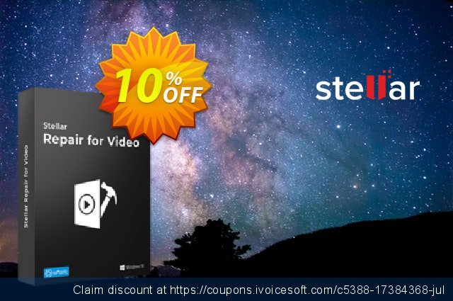 Stellar Repair For Photo & Video Bundle  대단하   프로모션  스크린 샷