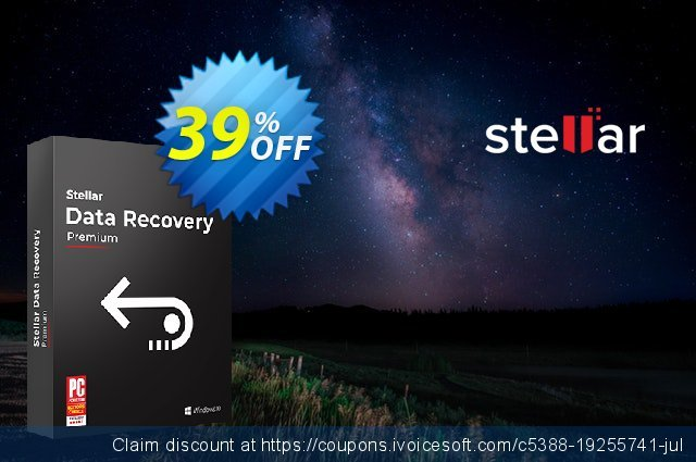 Stellar Data Recovery Windows Premium (Lifetime)  신기한   촉진  스크린 샷