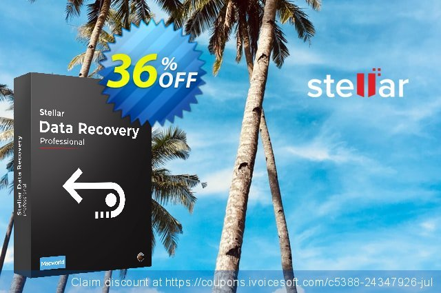 Stellar Data Recovery Professional Mac [1 Year Subscription]  최고의   제공  스크린 샷