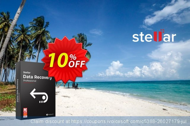 Stellar Data Recovery Professional Mac (2 Years) 令人敬畏的 折扣 软件截图