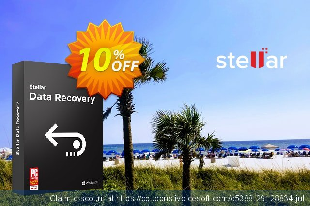 Stellar Data Recovery Standard Windows (30 Days Subscription) discount 10% OFF, 2020 Black Friday offering sales