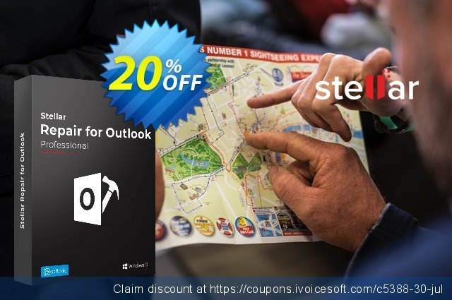 Stellar Repair for Outlook Professional discount 20% OFF, 2021 Happy New Year promo