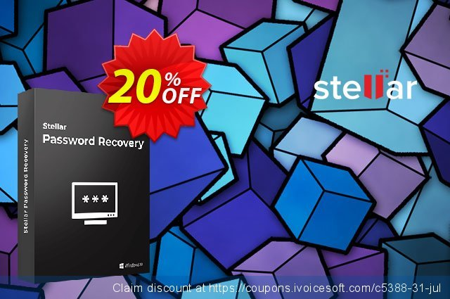 Stellar Password Recovery discount 20% OFF, 2021 Mother's Day offering sales. Stellar Password Recovery stunning discount code 2021