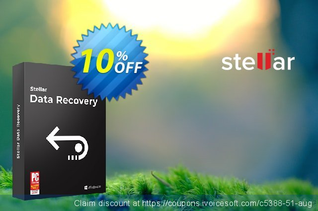 Stellar Data Recovery discount 20% OFF, 2020 Back to School Promos discounts