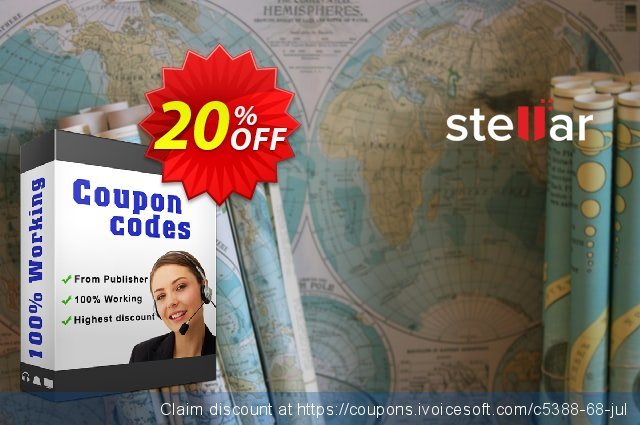 Stellar Repair for QuickBooks Software discount 20% OFF, 2021 New Year promo