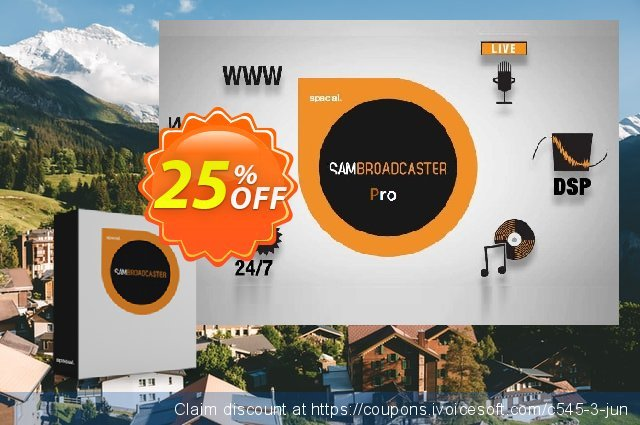 Spacial SAM Broadcaster PRO discount 25% OFF, 2021 Mother's Day discount. 25% OFF Spacial SAM Broadcaster PRO, verified