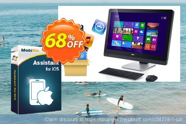 MobiKin Assistant for iOS discount 50% OFF, 2020 Fourth of July offering sales