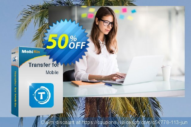 MobiKin Transfer for Mobile (Mac Version) - Lifetime, 6-10PCs License discount 50% OFF, 2021 Happy New Year offering sales