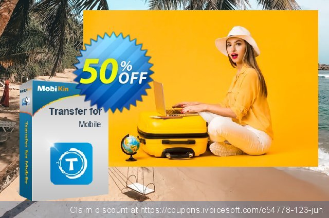 MobiKin Transfer for Mobile (Mac Version) - 1 Year, 21-25PCs License discount 50% OFF, 2021 New Year deals