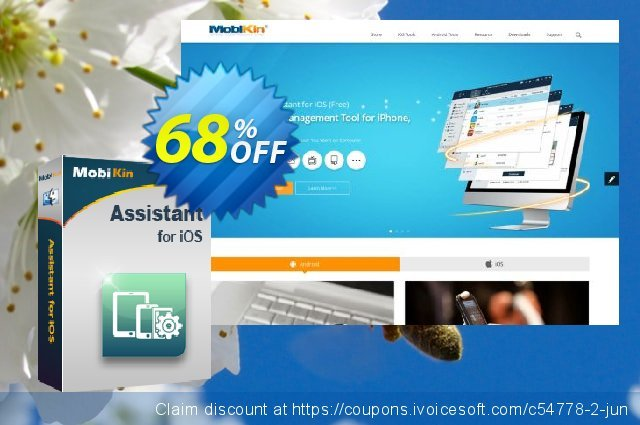 MobiKin Assistant for iOS (Mac) discount 50% OFF, 2019 Earth Hour offering sales