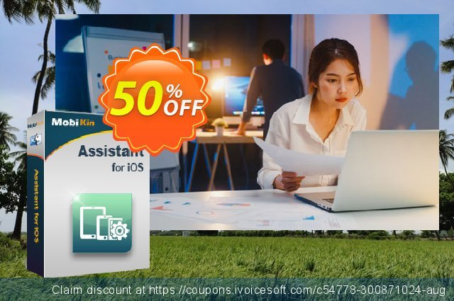 MobiKin Assistant for iOS (Mac) - 1 Year, 16-20PCs License discount 50% OFF, 2020 Back to School shopping promo sales