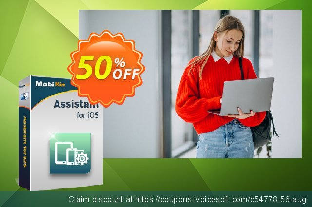 MobiKin Assistant for iOS (Mac) - 1 Year, 26-30PCs License discount 50% OFF, 2020 Halloween offering sales